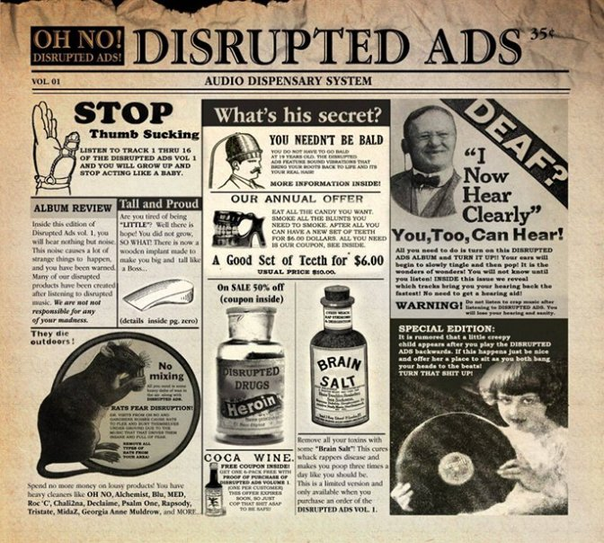 Oh No «The Disrupted Ads» @@@