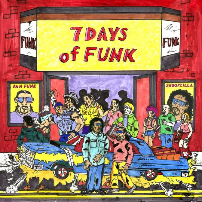Dam-Funk & Snoopzilla (Snoop Dogg) are «7 Days of Funk» @@@@