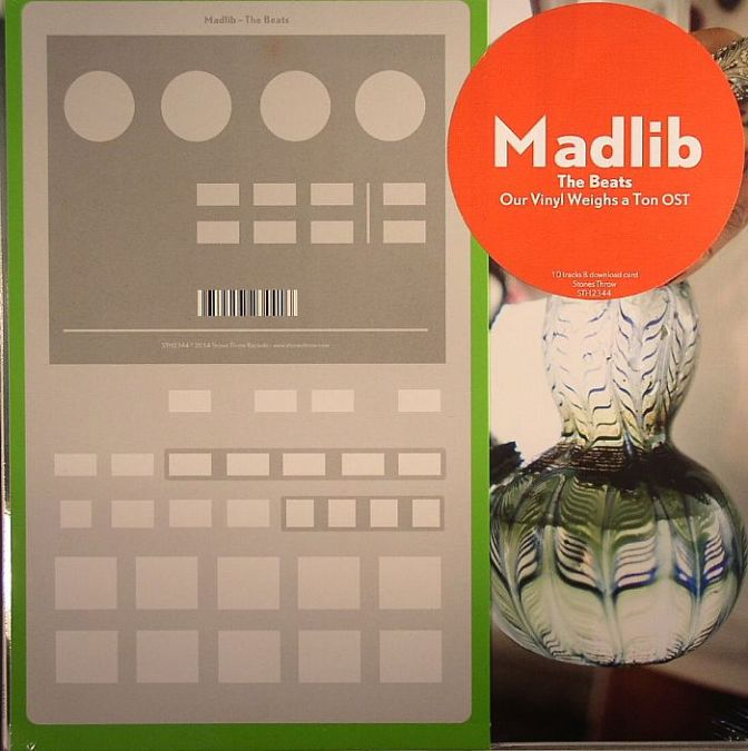 Madlib «The Beats (Our Vinyl Weighs A Ton soundtrack)» @@@½