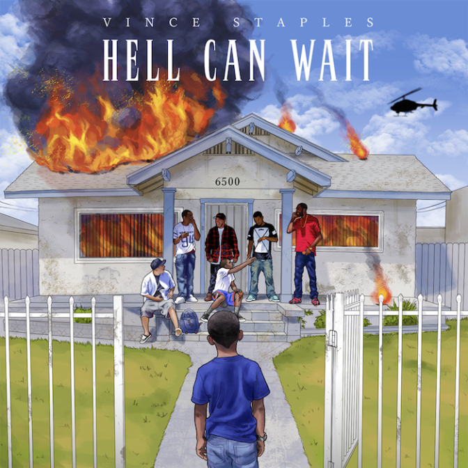 Vince Staples «Hell Can Wait» [EP] @@@@