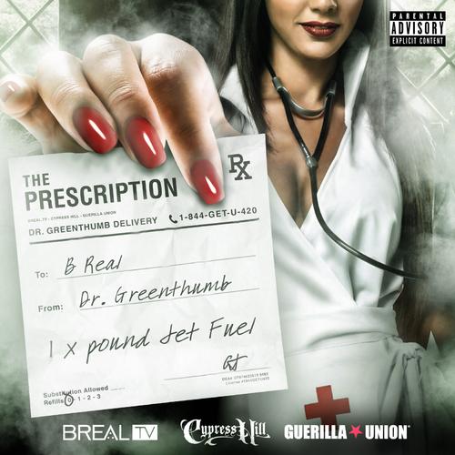 B-Real x Dr GreenThumb «The Prescription» [mixtape] @@@½
