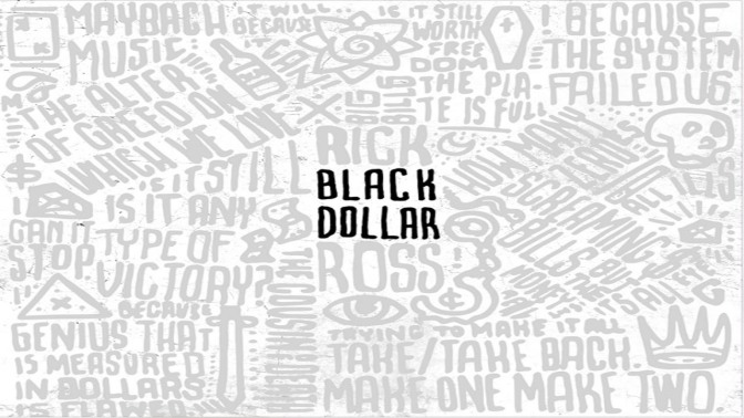 Rick Ross « Black Dollar » [mixtape] @@@½