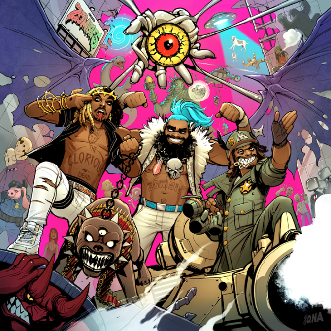 Flatbush ZOMBiES « 3001: The Laced Odyssey » @@@@