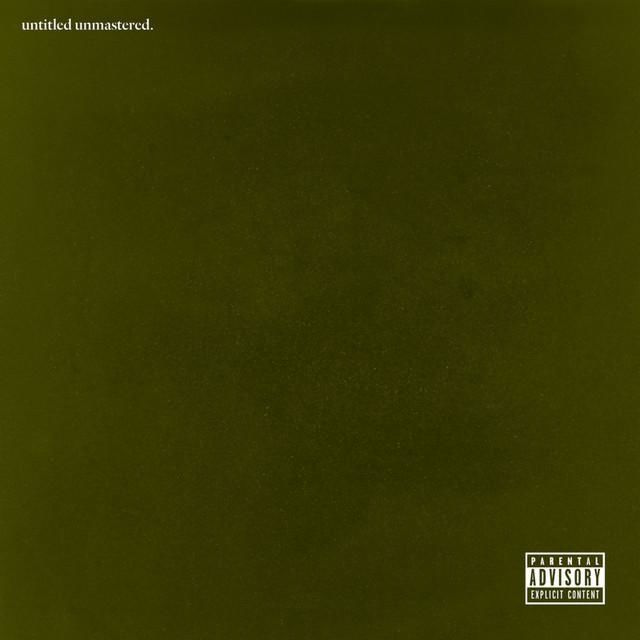 Kendrick Lamar «untitled unmastered» @@@@