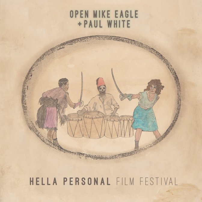Open Mike Eagle + Paul White «Hella Personal Music Festival» @@@@