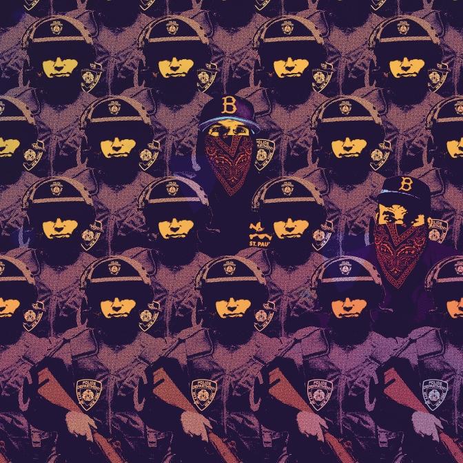 Saga x Thelonious Martin «Molotov» @@@@