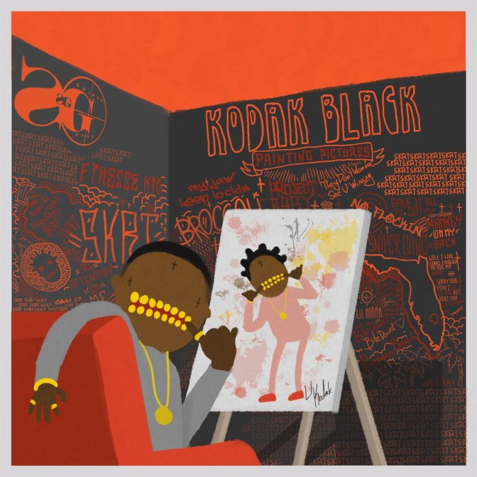 Kodak Black « Painting Pictures » @@@½