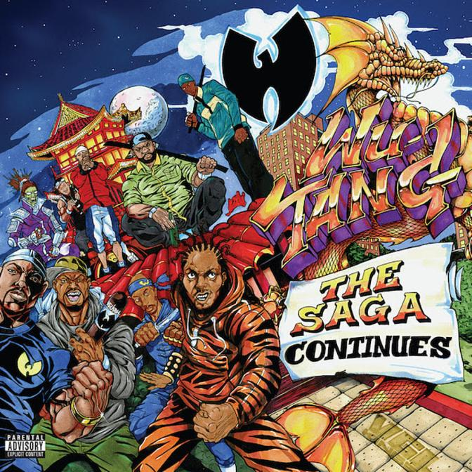 Wu-Tang « The Saga Continues » @@@