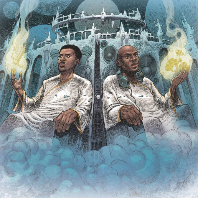 Blu & Nottz « Gods In The Spirit, Titans In The Flesh » @@@@